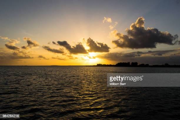 florida keys sunset - barr stock pictures, royalty-free photos & images