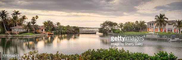 florida lagoon view - stuart florida stock pictures, royalty-free photos & images