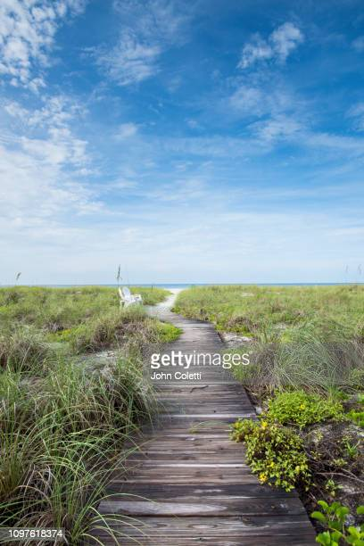 florida, longboat key, whitney beach, gulf of mexico - gulf coast states photos et images de collection