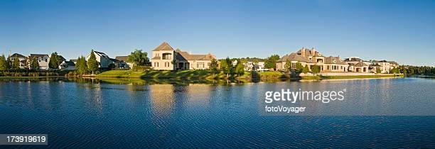 florida luxury lakeside living - orlando florida stock photos and pictures