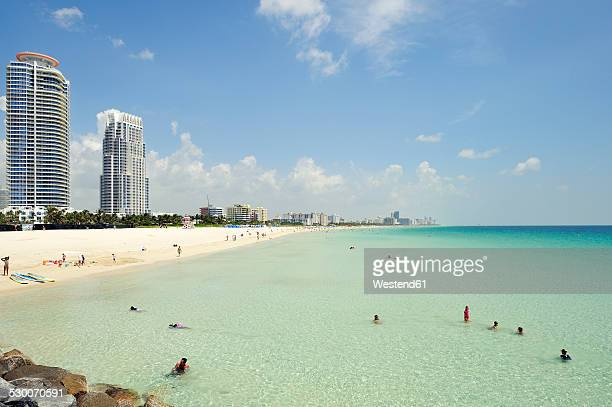 USA, Florida, Miami Beach, South Pointe Beach