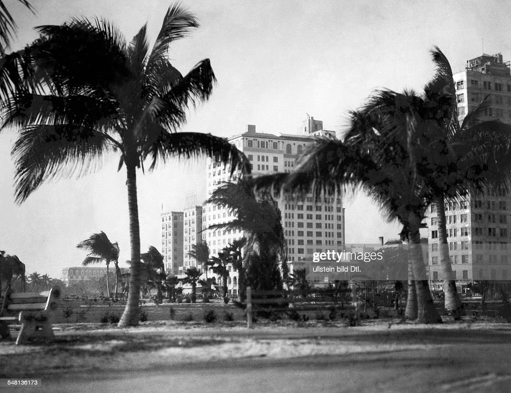 Hotels On The Ocean Boulevard 1926 Photographer Emil Otto Hoppe Published By
