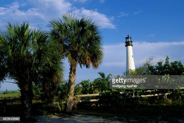 Florida, Miami, Key Biscayne, Bill Baggs Cape Florida State Park, Lighthouse.