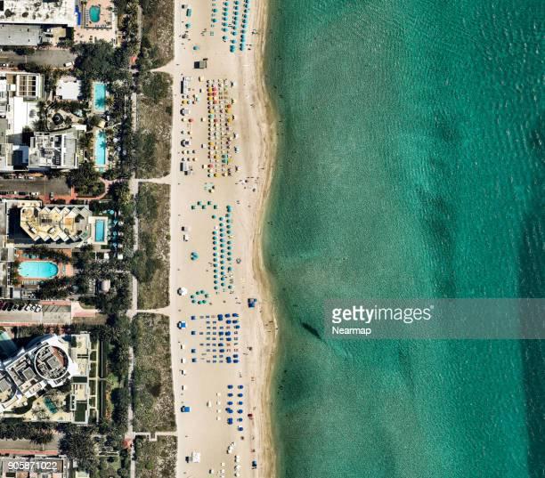 florida, miami, miami beach - miami beach miami stock-fotos und bilder