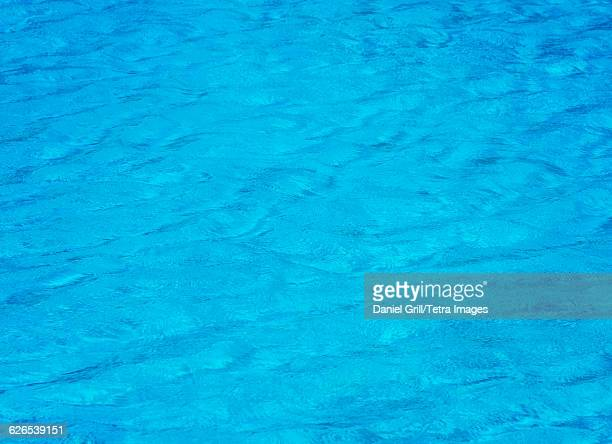 USA, Florida, Naples, Rippled water in swimming pool