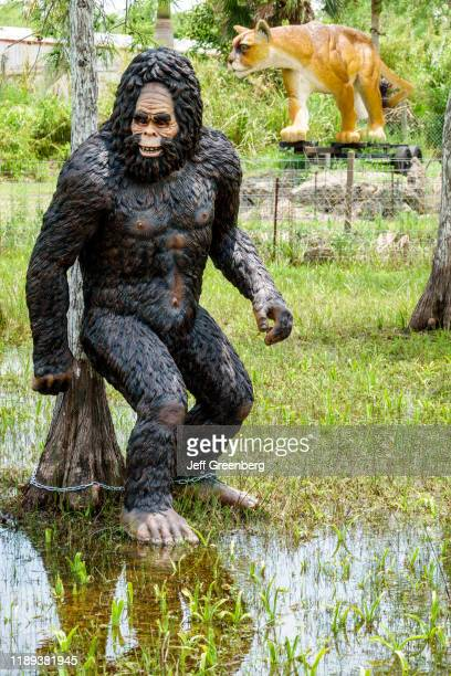 Florida Ochopee Everglades Tamiami Trail roadside attraction bigfoot and panther