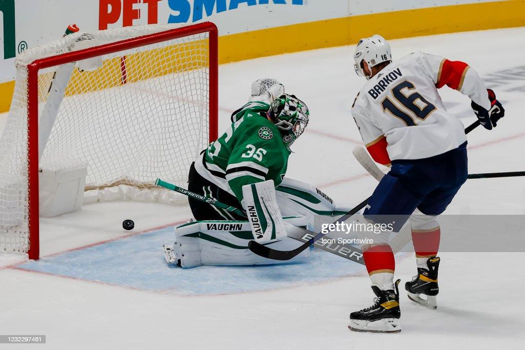 NHL: APR 13 Panthers at Stars : News Photo