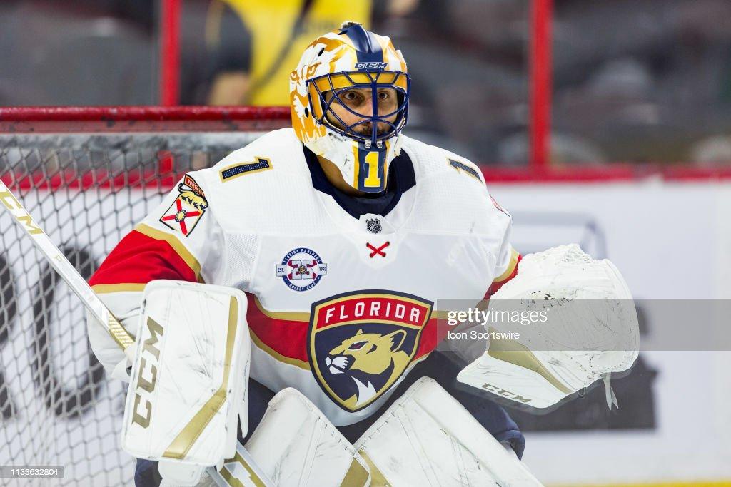 NHL: MAR 28 Panthers at Senators : News Photo