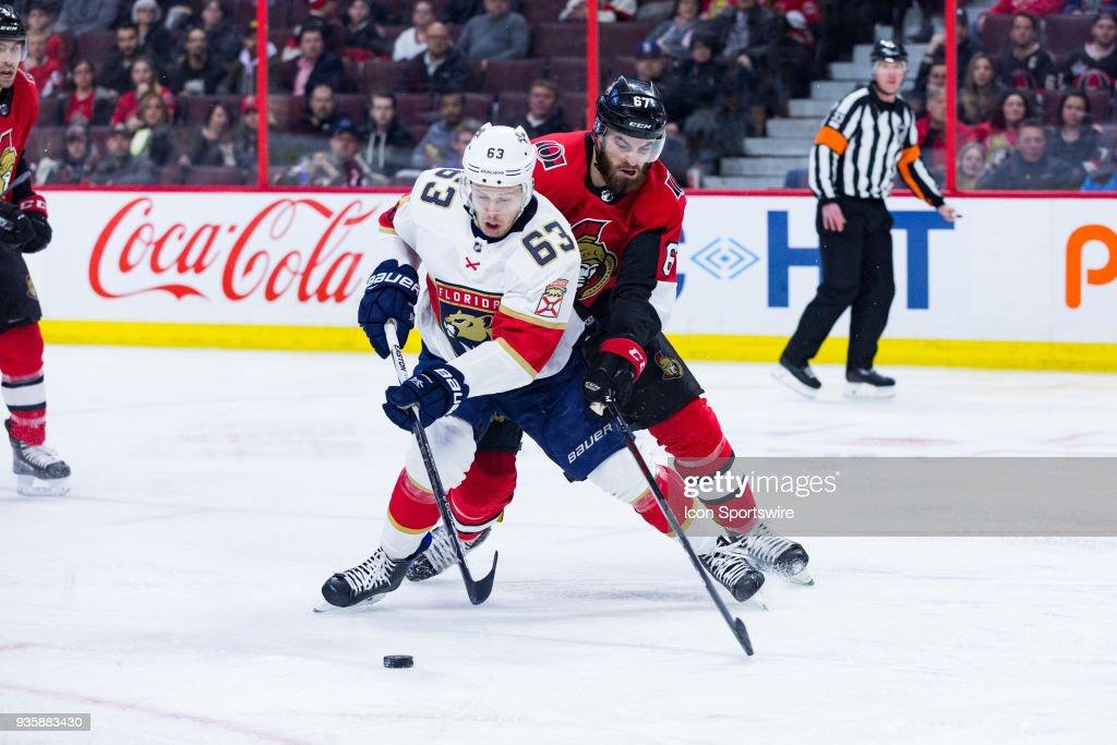 NHL: MAR 20 Panthers at Senators : News Photo