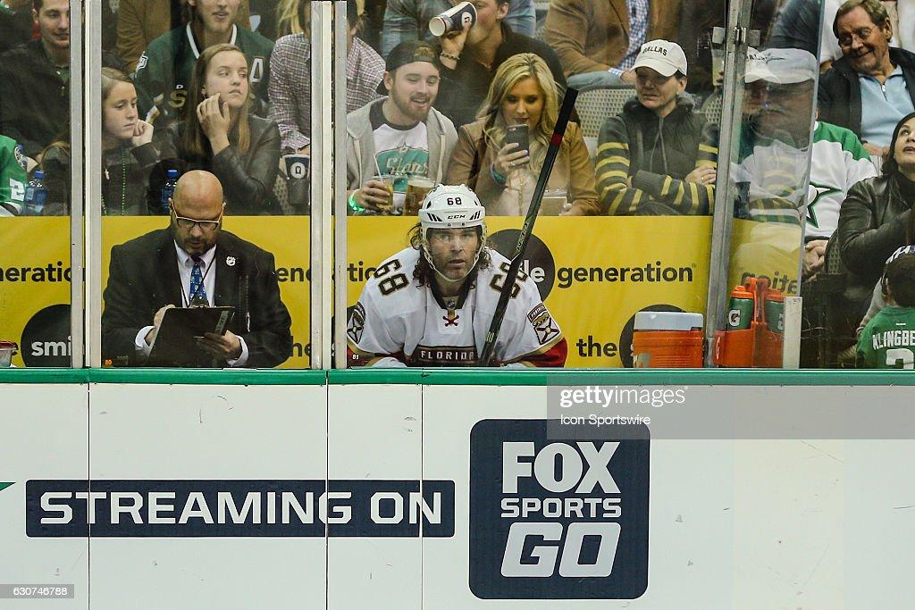 NHL: DEC 31 Panthers at Stars : News Photo