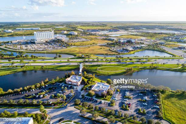 Florida Port Saint Lucie aerial of Cleveland Clinic Tradition Hospital