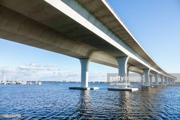 Florida, Port St Lucie, Roosevelt Bridge.