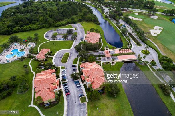 Florida Port St Lucie West Aerial of PGA Vacation Resort