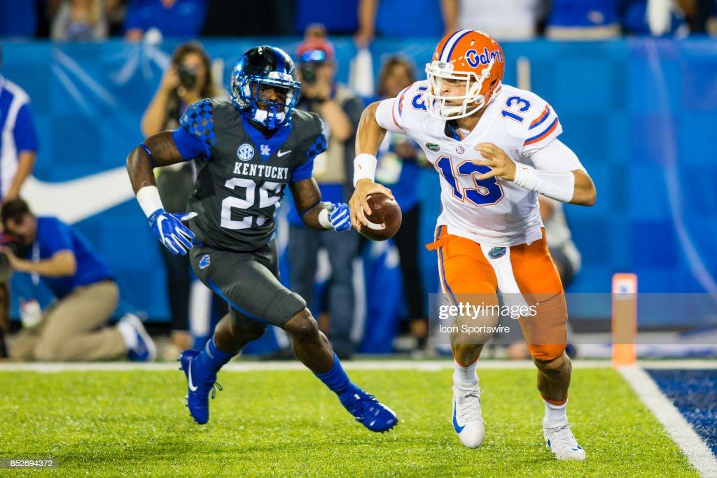 COLLEGE FOOTBALL: SEP 23 Florida at Kentucky : News Photo