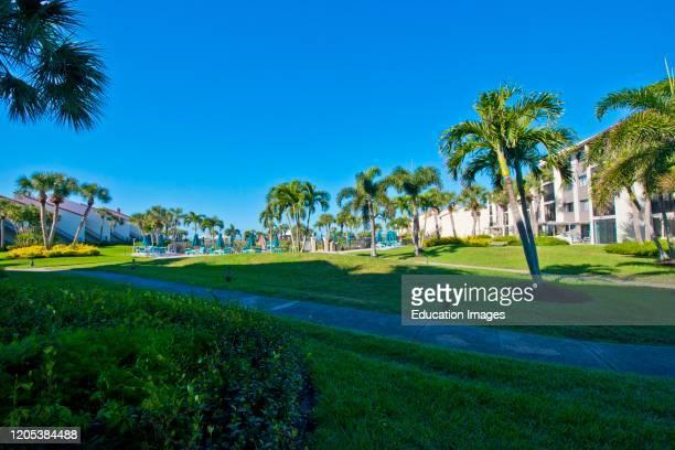 Florida, Sarasota, Crescent Beach, Siesta Key, Grounds.