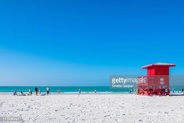 florida (us) - siesta key - siesta key stock pictures, royalty-free photos & images