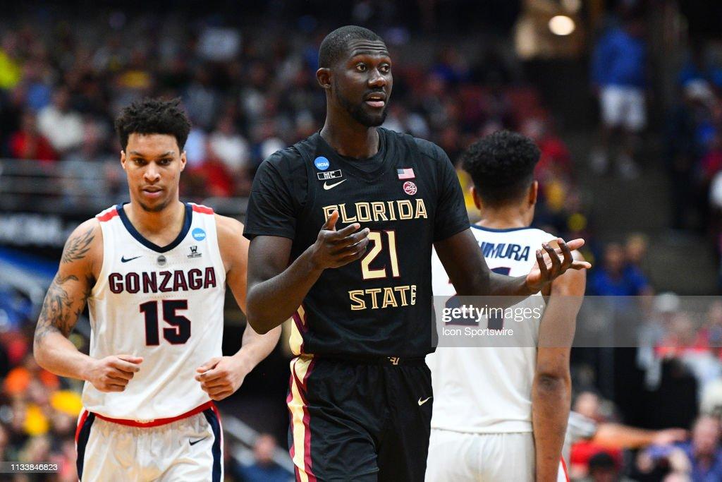 NCAA BASKETBALL: MAR 28 Div I Men's Championship - Sweet Sixteen - Florida St v Gonzaga : News Photo
