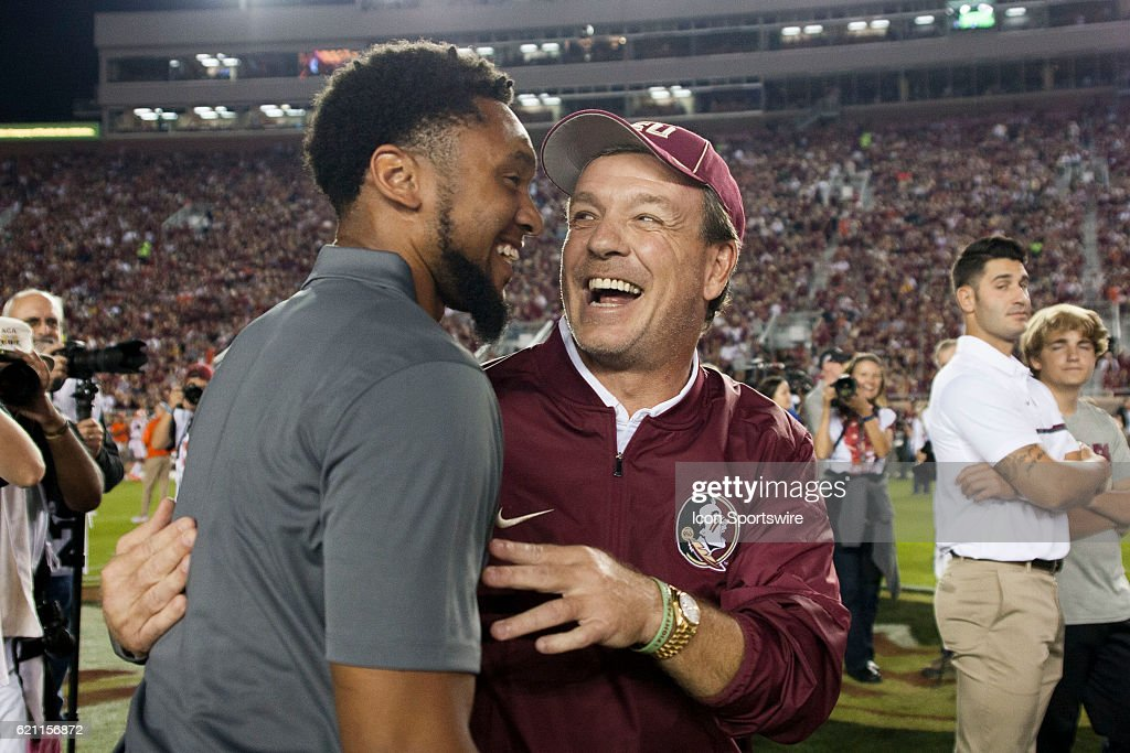 NCAA FOOTBALL: OCT 29 Clemson at Florida State : News Photo