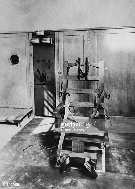Florida State Prison's First Electric Chair