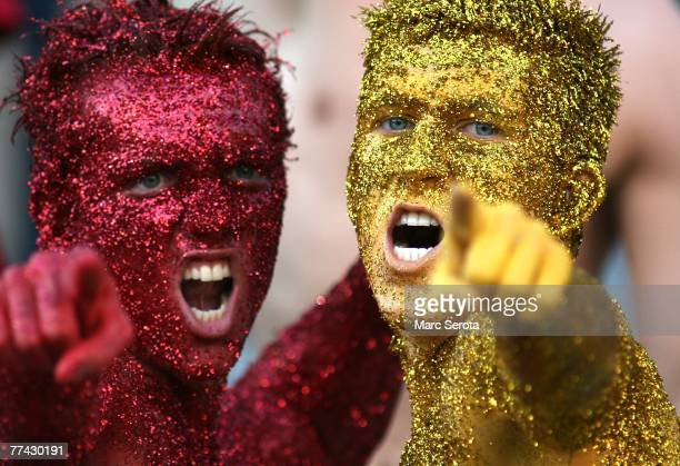 Florida State Seminole fans root for there team against the University of Miami Hurricanes in the second quarter at Bobby Bowden Field at Doak...