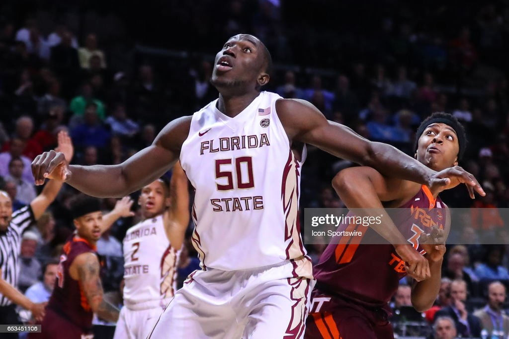 COLLEGE BASKETBALL: MAR 09 ACC Tournament - Florida State v Virginia Tech : News Photo