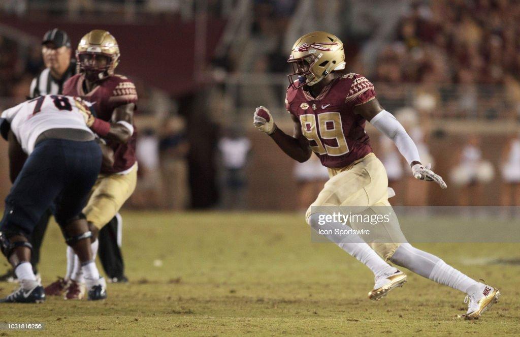 COLLEGE FOOTBALL: SEP 08 Samford at Florida State : News Photo