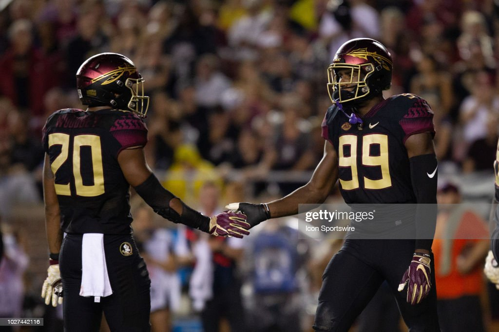 COLLEGE FOOTBALL: SEP 03 Virginia Tech at Florida State : News Photo