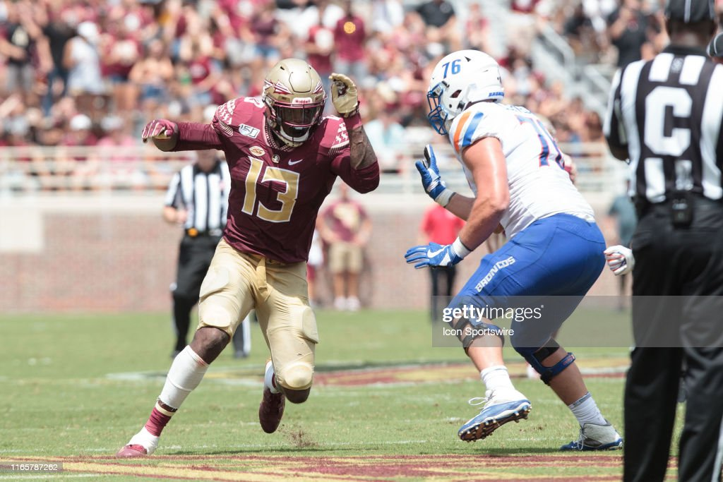COLLEGE FOOTBALL: AUG 31 Boise State v Florida State : News Photo