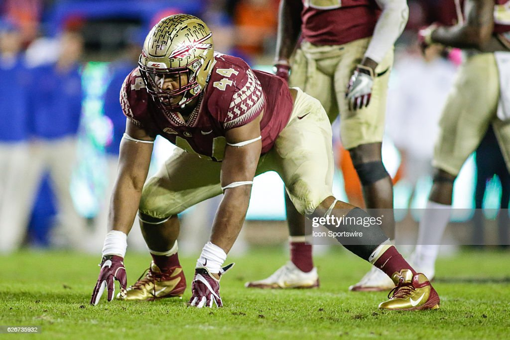 NCAA FOOTBALL: NOV 26 Florida at Florida State : News Photo