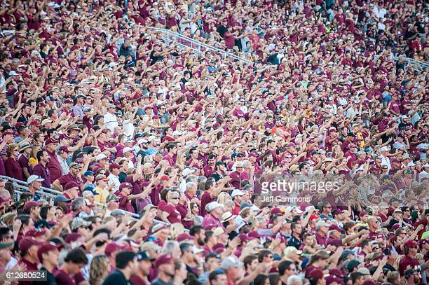 Florida State Seminoles fans during the game against the North Carolina Tar Heels at Doak Campbell Stadium on October 1 2016 in Tallahassee Florida