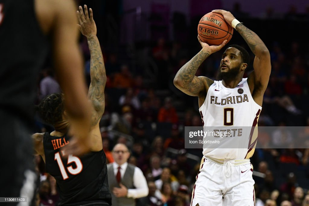 COLLEGE BASKETBALL: MAR 14 ACC Tournament Virginia Tech v Florida State : News Photo