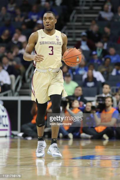 Florida State Seminoles guard Trent Forrest during the 2nd half of the ACC Tournament championship game with the Duke Blue Devils versus the Florida...