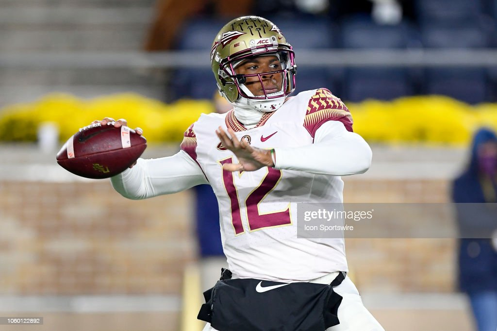 COLLEGE FOOTBALL: NOV 10 Florida State at Notre Dame : News Photo