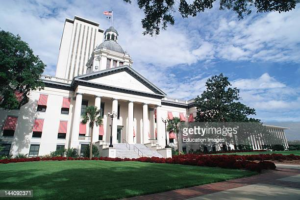 Florida Tallahassee Old And New State Capitol Buildings