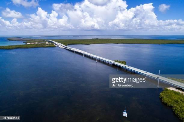 Florida Upper Key Largo Lake Surprise and Overseas Highway