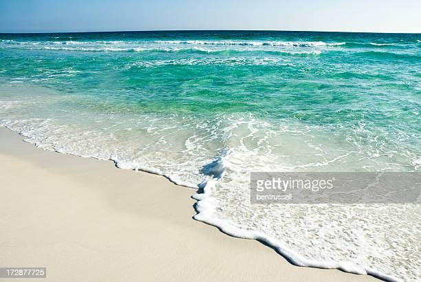 florida waves - destin beach stock pictures, royalty-free photos & images