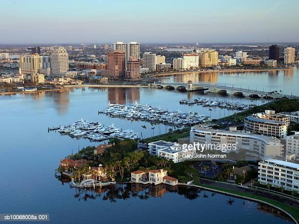 USA, Florida, West Palm Beach, aerial view