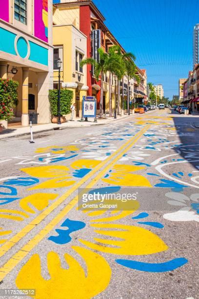フロリダ州 (米国) - ウェストパームビーチ, シティプレイス - ウェストパームビーチ ストックフォトと画像