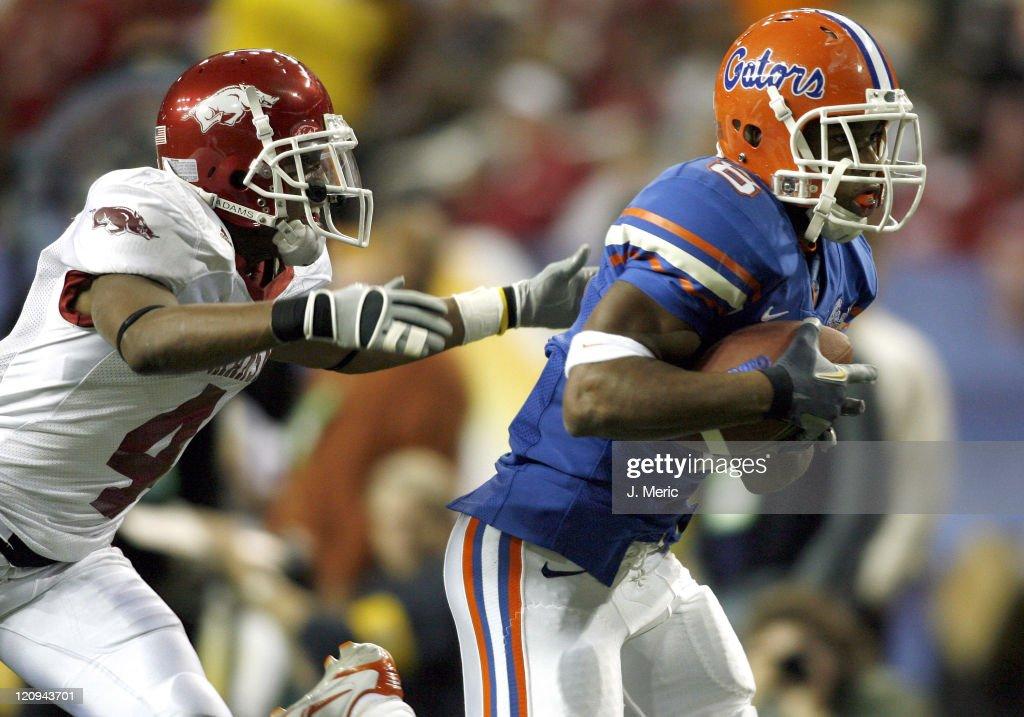 NCAA Football - SEC Championship - Arkansas vs Florida - December 2, 2006