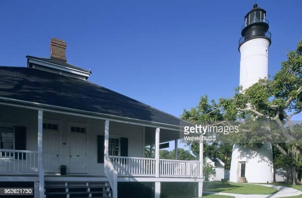 Floride, Key West, The Keys, Key West Lighthouse.