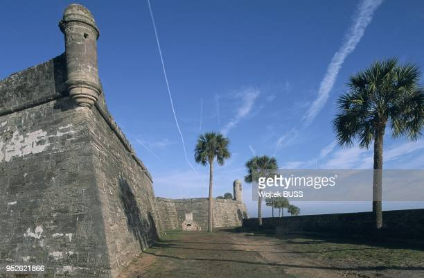 Floride, St. Augustine, Castillo de San Marcos.