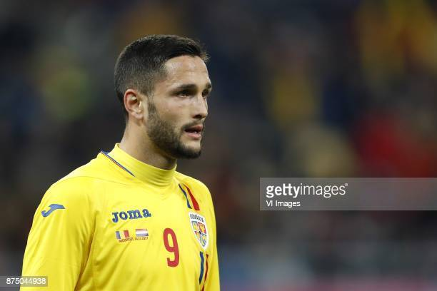 Florin Andone of Romania during the friendly match between Romania and The Netherlands on November 14 2017 at Arena National in Bucharest Romania