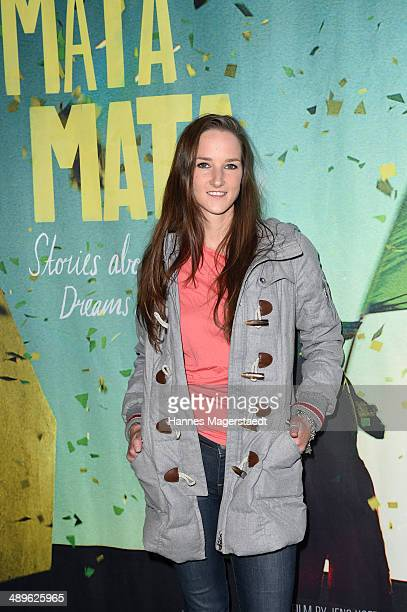 Florinda Bogner attends the 'Mata Mata' Premiere at ARRI Kino on May 11, 2014 in Munich, Germany.