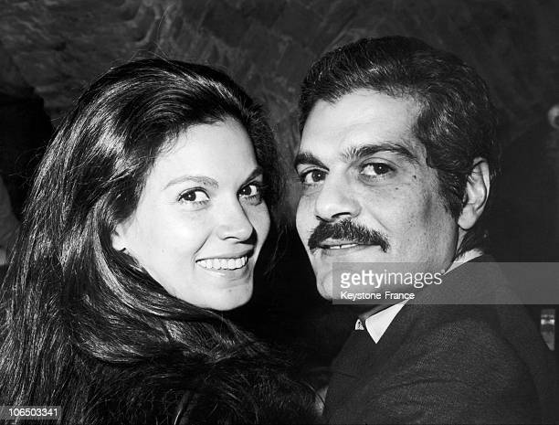 Florinda Bolkan And Omar Sharif In 1970