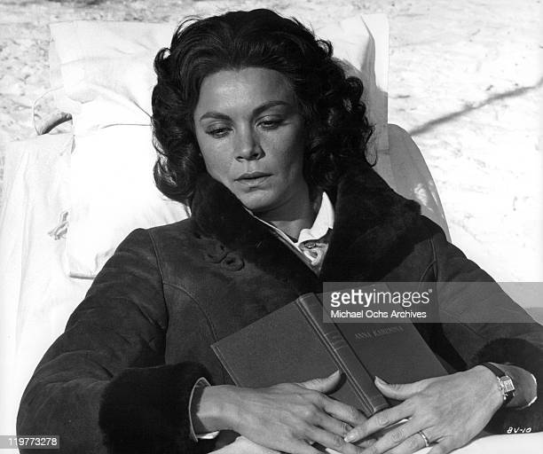 Florinda Bolkan recuperates from lung disease in a scene from the film 'A Brief Vacation' 1973