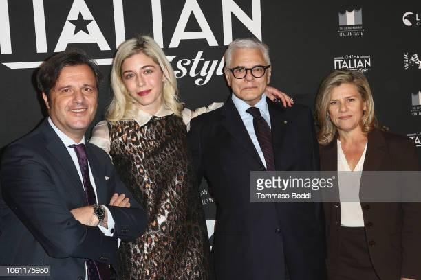 Florindo Blandolino Annabelle Attanasio Antonio Verde and Valeria Rumori attend the Cinema Italian Style'18 CINECITTÃ KEY A Celebration Of Italian...