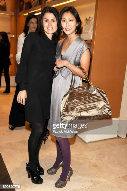 Florinka Pesenti and Adelina Wong Ettelson attend TOD'S and VOGUE Event to Benefit SAVE VENICE at TOD'S on March 11 2009 in New York