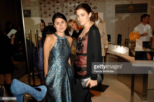 Florinka Pesenti and Fernanda Niven attend TOD's Special Presentation of the FallWinter Collection Hosted By Derek Lam Cristina Greeven Cuomo at SAKS...