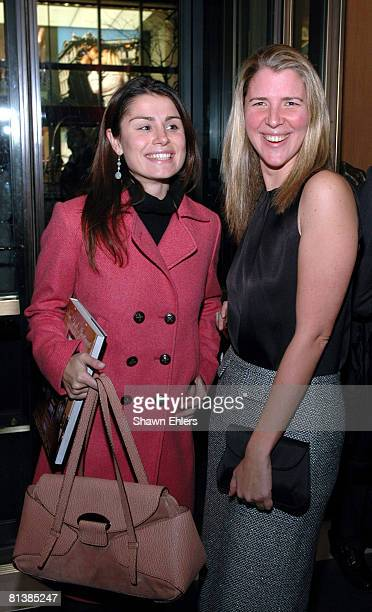 Florinka Pesenti and Samantha Gregory
