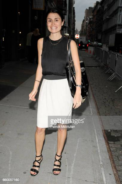 Florinka Pesenti attends DEREK LAM Boutique Opening at Derek Lam on May 6 2009 in New York City